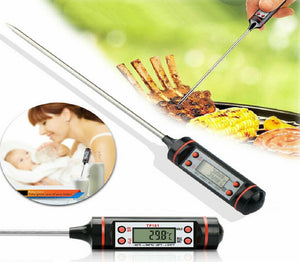 TSSPLUS™Kitchen Cooking Digital Thermometer Tool Food Probe BBQ Meat Temperature [US STOCK]
