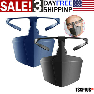TSSPLUS™ Face Mouth Shield Protection Glasses [US STOCK]