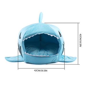 TSSPLUS™Dog Bed Shark Shape Pet Bed