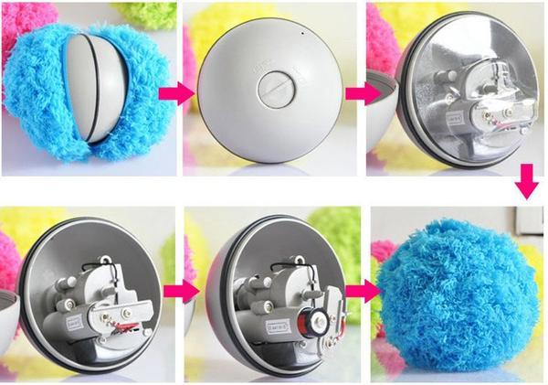 Anti Dust Automatic Rolling Ball