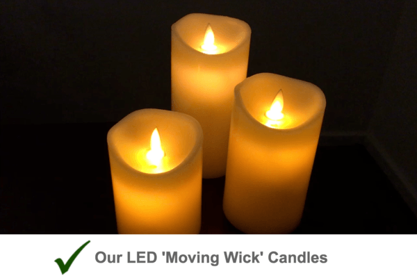 LED Flickering Candle Light