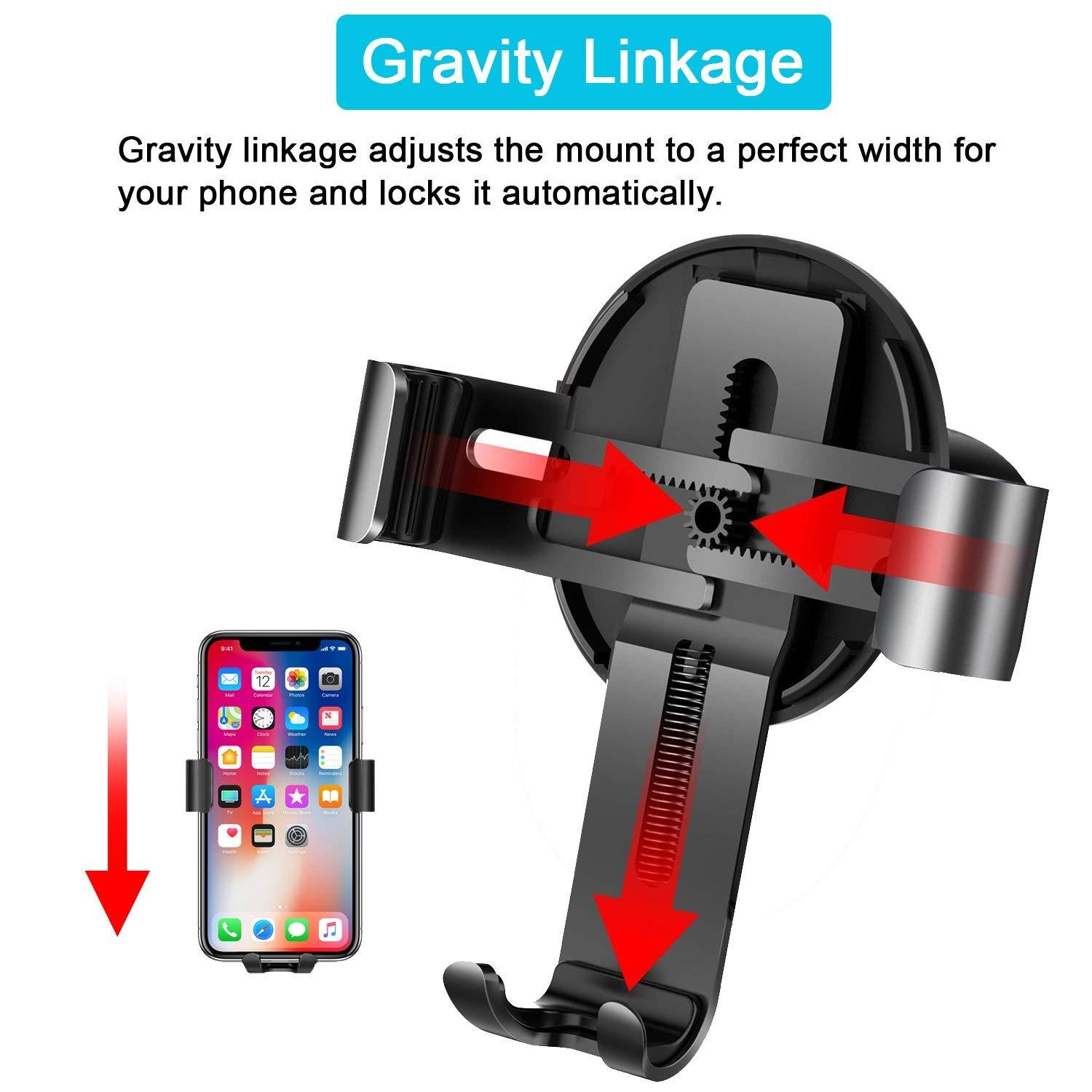 Automatic Phone Car Mount