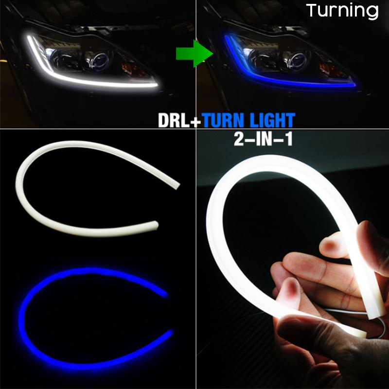 Car Flexible DRL Daytime Running Light (2 PCS)
