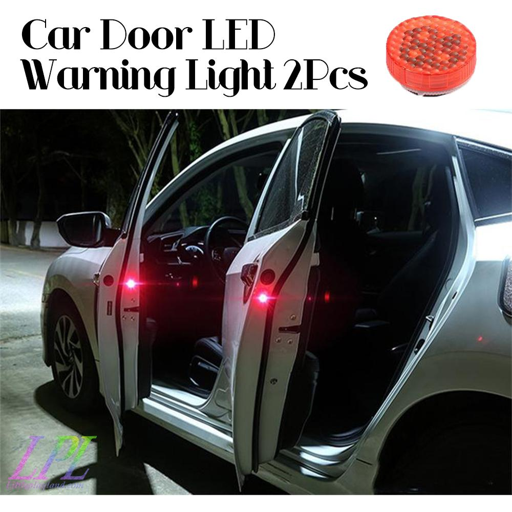 Car Door LED Warning Light 2Pcs