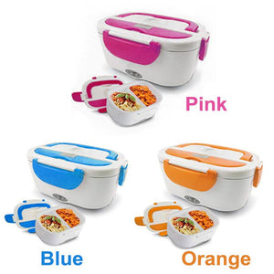 Self-Heating Lunch Box