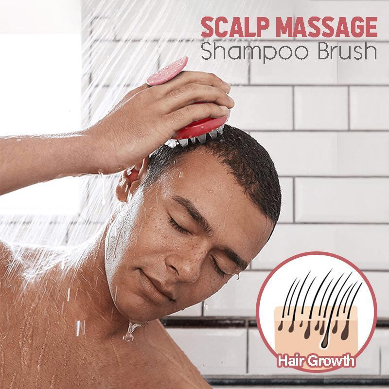 Scalp Massage Shampoo Brush