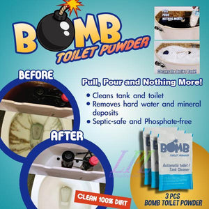 Bomb Toilet Powder