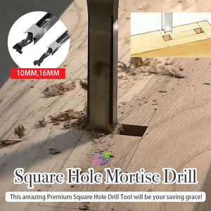 Square Hole Mortise Drill