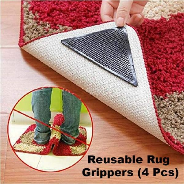 Reusable Rug Grippers (4 Pieces)