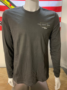 Dark Gray Long Sleeve T-Shirt