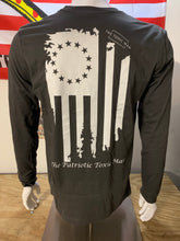 Load image into Gallery viewer, Dark Gray Betsy Ross Long Sleeve T-Shirt