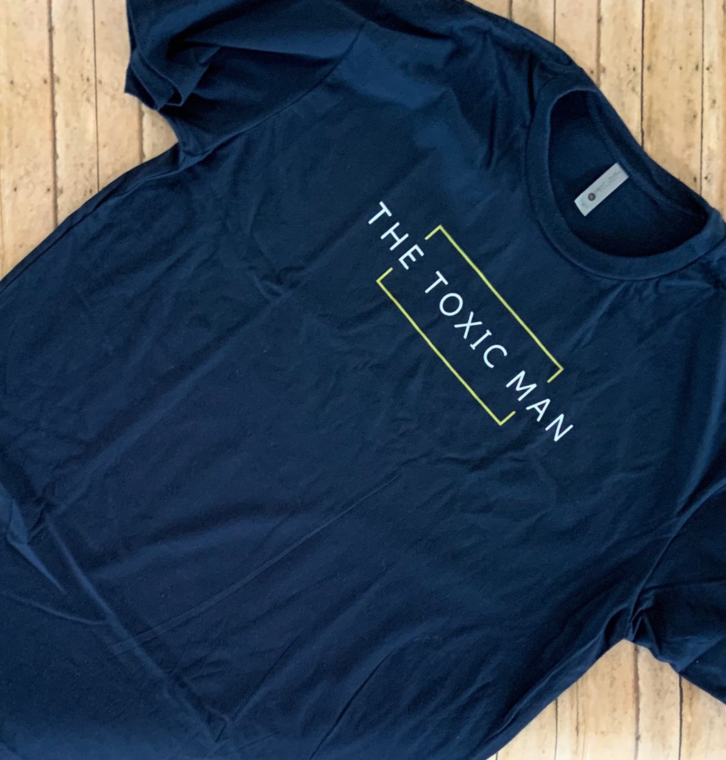 Navy Blue Classic The Toxic Man t-shirt