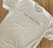 Load image into Gallery viewer, White Classic The Toxic Man t-shirt
