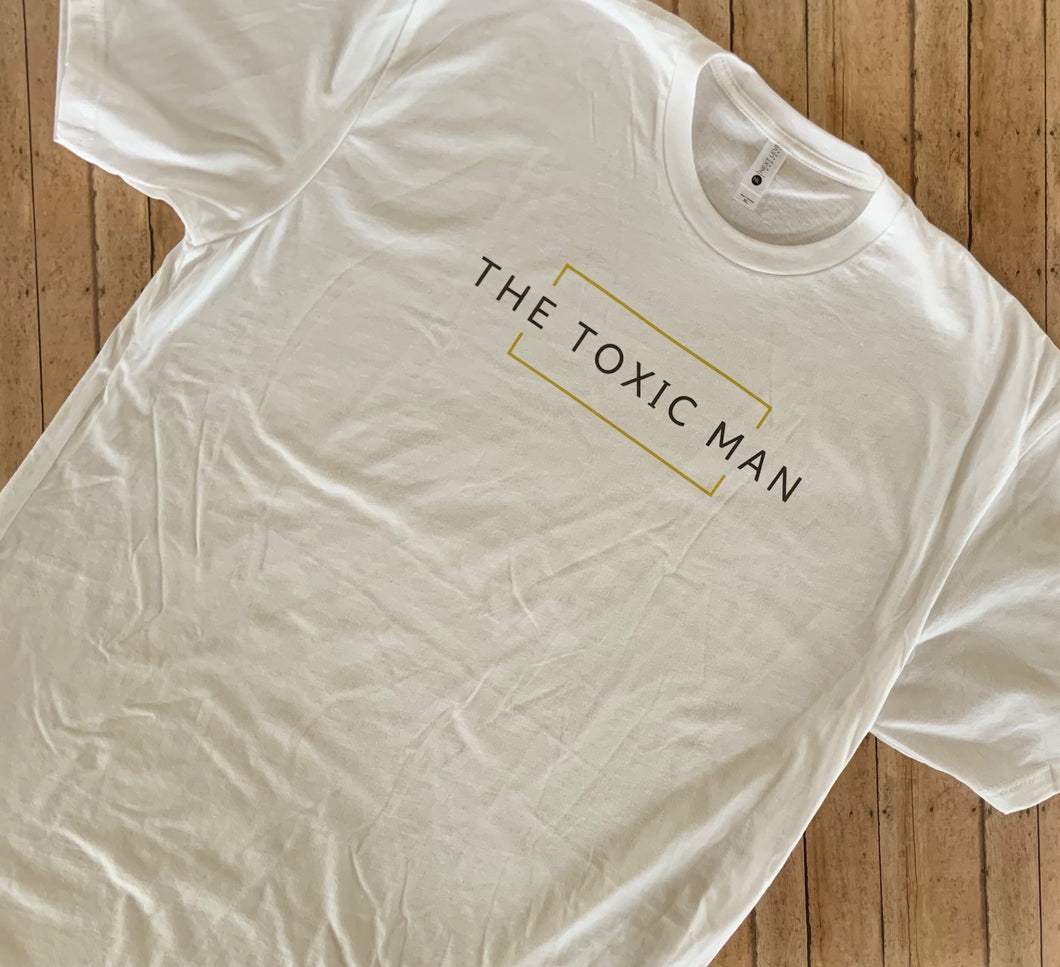 White Classic The Toxic Man t-shirt