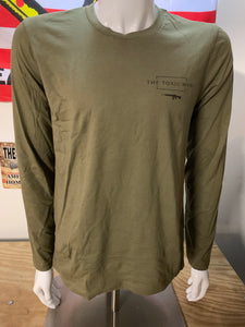 Chatos Olive Drab Long Sleeve T-Shirt