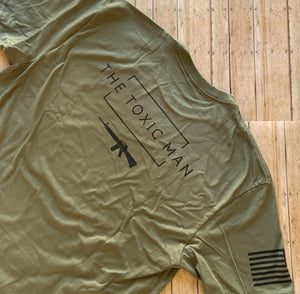 Olive Drab Green Chatos Toxic Man t-shirt