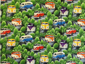 On Tour - VW Combi's