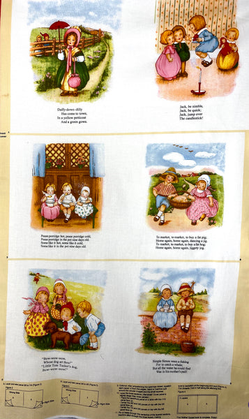 The Mother Goose - Fabric Book