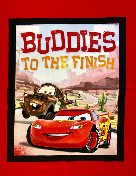 "Buddies To The Finish - Disney ""Cars"""