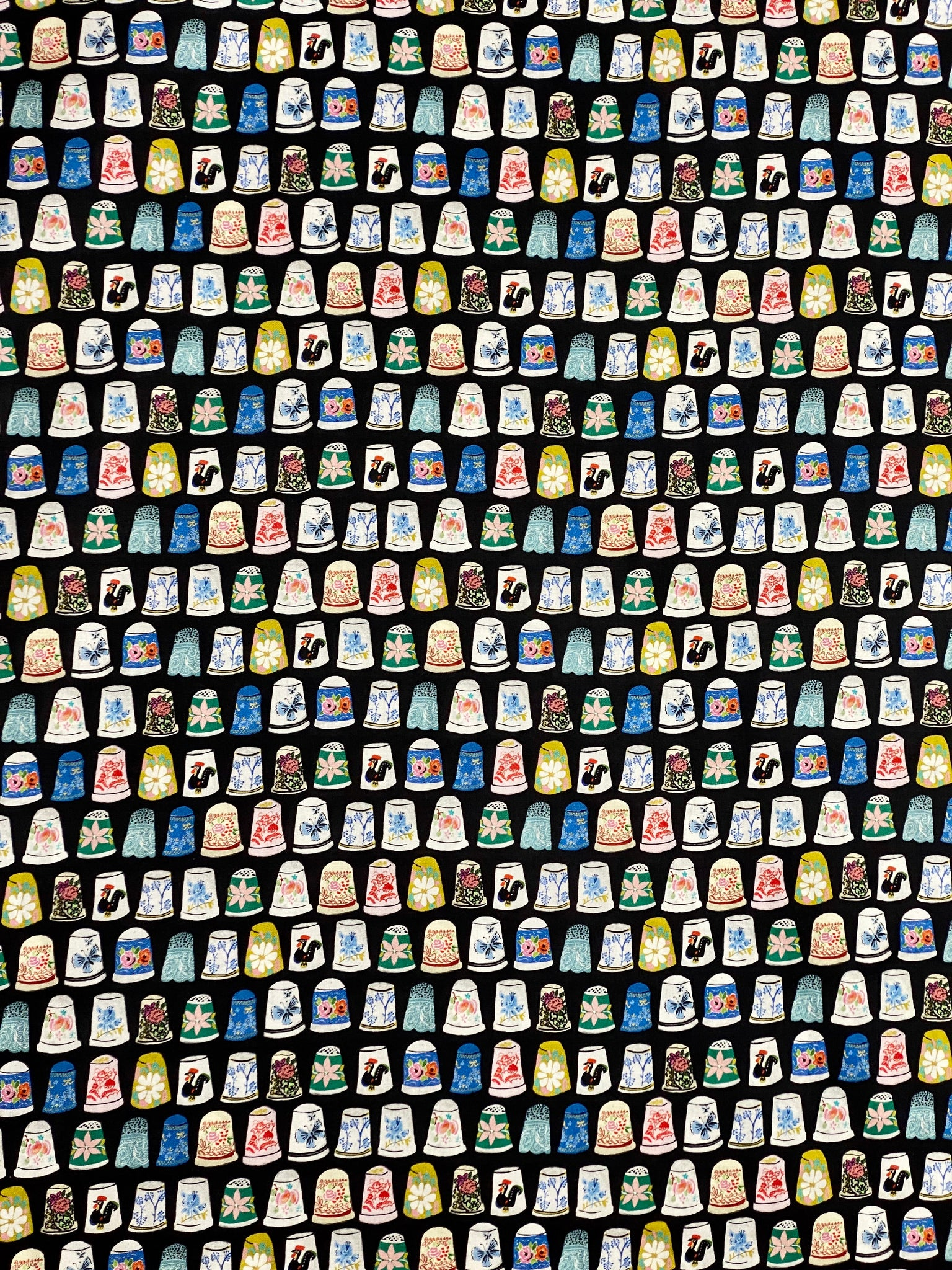 Thimbles and Threads - Thimble collection