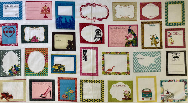 Milvale Quilt labels
