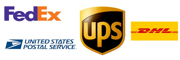 UPS USPS FEDEX DHL Shipping Carriers