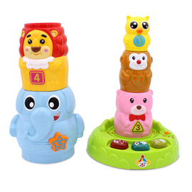 Electronic Circus Animal Stacker Baby Puzzle