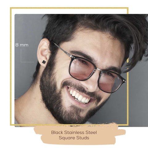 men fashion earrings