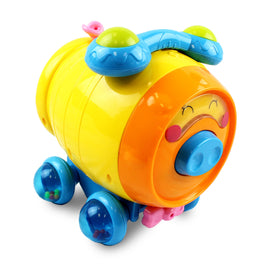 Puzzled Pig Baby Rolling Developmental Toy