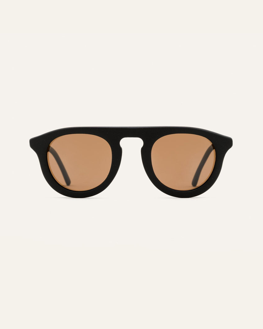 coffee sunglasses frame