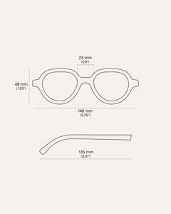 kiely glasses parameters