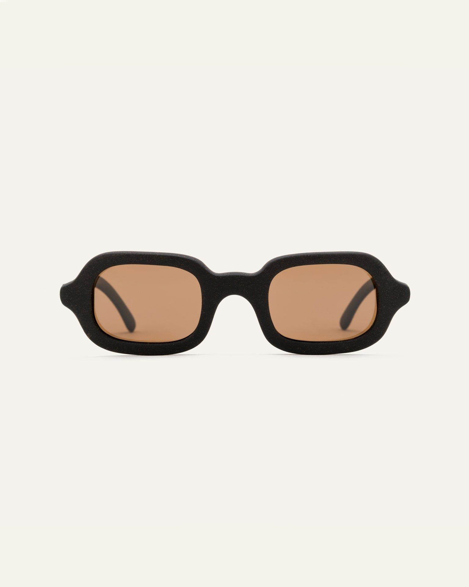 brown lenses rectangular glasses