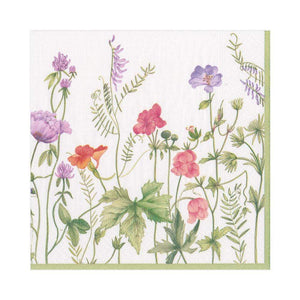 Paper Napkin French Floral Lunch