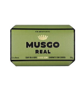 Soap on a rope, Classic Scent - Musgo Real