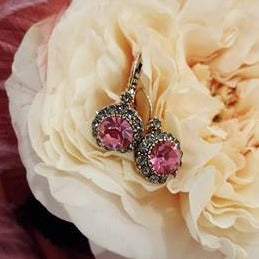 Vintage Earring Rose
