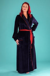 BOUDOIR Robe Midnight Velvet