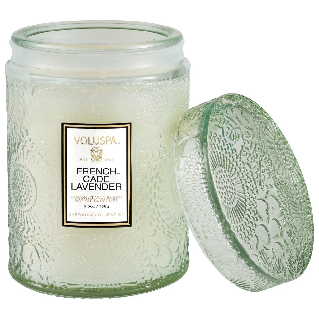 French Cade Lavender Small Jar Doftljus