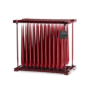 Wine Red Lacquer 32 cm, 4-pack