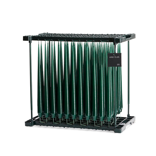 Dark Green Lacquer 42 cm, 4-pack