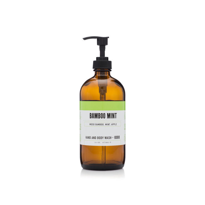 KOBO Bamboo Mint Hand & Body Wash