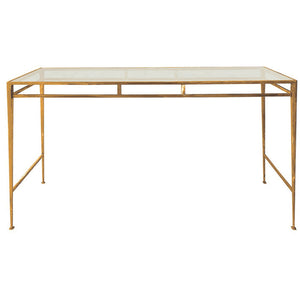 Console Table Golden