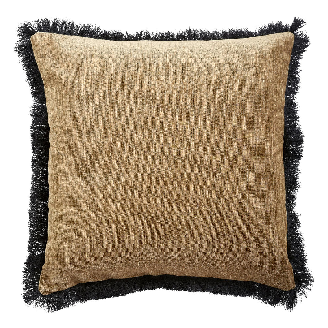 Cushion Fringe Gold