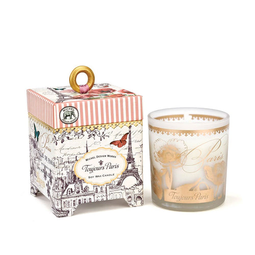 Soy Wax Candle Toujours Paris