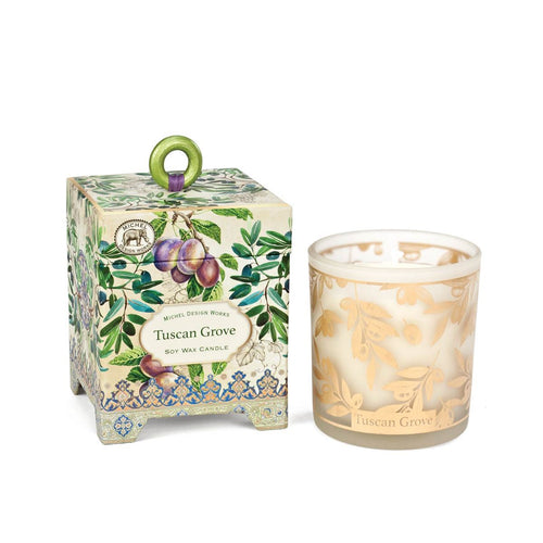 Soy Wax Candle Tuscan Grove