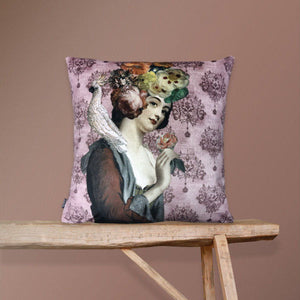 Velvet Cushion Cover Rosalil