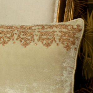 Cushion Embrodery Antiquity Mineral
