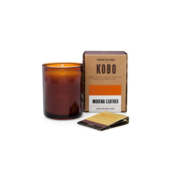KOBO Modena Leather Votive