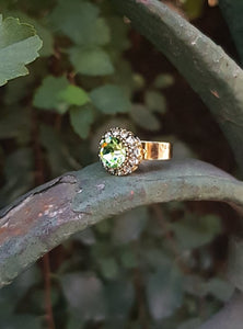 Ring Vintage Apple Green