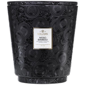 Moso Bamboo 5-Wick Heart Candle