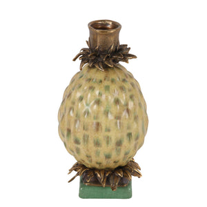 Candleholder Pineapple Green